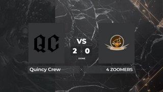 Quincy Crew vs 4 Zoomers | BO3 | Zyori & Peksu | OMEGA League