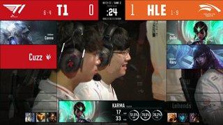 HLE vs. T1 - DRX vs. GEN [2020 LCK Summer Split]