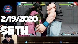 Highlight: 2/19/2020 Street Fighter V セス配信 Seth Stream