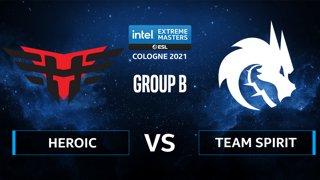 CS:GO - Team Spirit vs Heroic [Nuke] Map 2 - IEM Cologne 2021 - Group B
