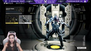 Warframe $500 in plat giveaways !enter | Live IRL Zoo stream tomorrow HYPE