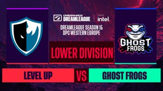 Dota2 - Ghost Frogs vs. Level UP - Game 1 - DreamLeague S15 DPC WEU - Lower Division