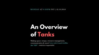 Highlight: An Overview of Tanks with H2O