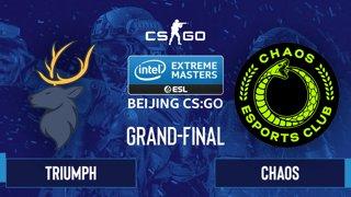 CS:GO - Chaos vs. Triumph [Nuke] Map 4 - IEM Beijing 2020 Online - Grand-Final - NA