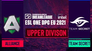 Dota2 - Alliance vs. Team Secret - Game 1 - DreamLeague Season 14 DPC: EU - Upper Division