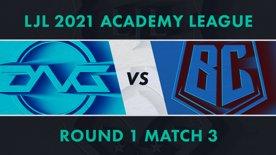 DFM.A vs BC.A LJL 2021 Academy League Tournament Round Round 1 Match 3