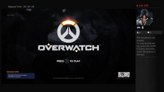 Overwatch Release Day Stream - PS4