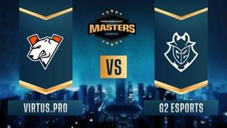 CS:GO - Virtus.pro vs. G2 Esports [Vertigo] Map 1 - DreamHack Masters Spring 2021 - Group A