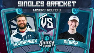 Hungrybox vs Ginger - Singles Bracket: Losers' Round 3 - Smash Summit 10 | Puff vs Falco