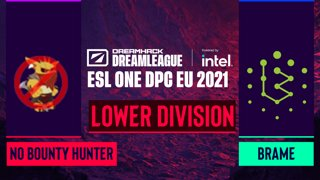 Dota2 - No Bounty Hunter vs. Brame - Game 1 - DreamLeague Season 14 DPC: EU - Lower Division