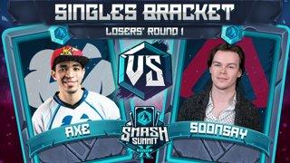 Axe vs Soonsay - Singles Bracket: Losers' Round 1 - Smash Summit 10 | Pikachu vs Fox