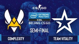 CS:GO - Complexity vs. Team Vitality [Mirage] Map 2 - IEM Beijing 2020 Online - Semi-final - EU