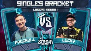Faceroll vs Lucky - Singles Bracket: Losers' Round 1 - Smash Summit 10 | Sheik vs Fox