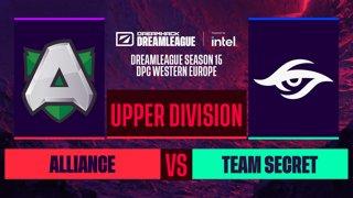 Dota2 - Team Secret vs. Alliance - Game 2 - DreamLeague S15 DPC WEU - Upper Division