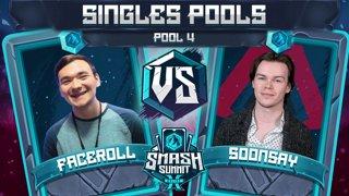 Faceroll vs Soonsay - Singles Pools: Pool 4 - Smash Summit 10 | Sheik vs Fox