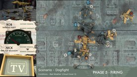 Warhammer 40,000 - Psychic Awakening: Ritual of the Damned and Aeronautica Imperialis – Imperial Navy vs Ork Waaagh! Battle Report