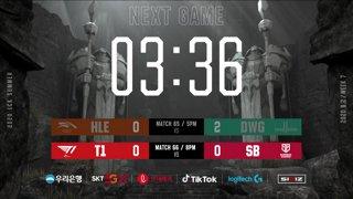 HLE vs. DWG - T1 vs. SB [2020 LCK Summer Split]