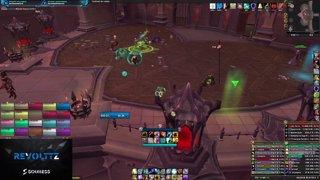 Highlight: <Soulless> Shaman Elemental Pov 222ilvl / 1580i.o / 1850cr Push M+ / Raid HC&M