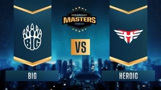 CS:GO - BIG vs. Heroic [Mirage] Map 1 - DreamHack Masters Spring 2021- Group B