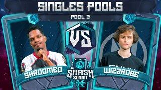Shroomed vs Wizzrobe - Singles Pools: Pool 3 - Smash Summit 10 | Sheik vs Captain Falcon