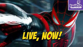SPIDER-MAN TIME...Finally - Miles Edition PS5 !ads !nzxt