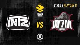 INTZ vs. W7M - LATAM League 2021   Stage 2 - Playday 11   #BR6