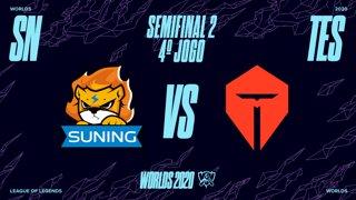 Mundial 2020: Semifinal 2 | Suning x Top Esports (4º Jogo)