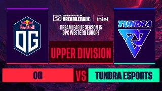 Dota2 - OG vs. Tundra Esports - Game 1 - DreamLeague S15 DPC WEU - Upper Division