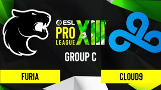 CS:GO - Cloud9 vs. FURIA [Nuke] Map 2 - ESL Pro League Season 13 - Group C