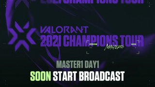 VALORANT Champions Tour JAPAN /// STAGE1 MASTERS Day1-1