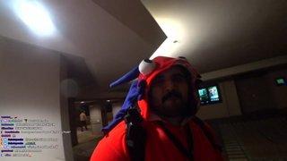 BlizzCon 2019 IRL - Night 1  in a Murloc Suit