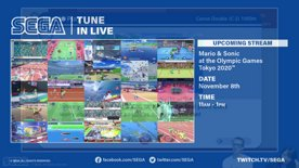 SEGA LIVE - Mario & Sonic at the Olympic Games Tokyo 2020 (Part 2)