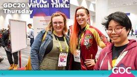 GDC20 Virtual Talks: Thursday