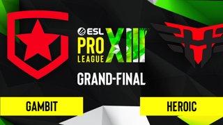 CS:GO - Gambit vs. Heroic [Inferno] Map 1 - ESL Pro League Season 13 - Grand-Final