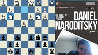 Highlight: Blitz Match Naroditsky vs Nakamura