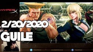 Highlight: 2/20/2020 Street Fighter V ガイル配信 Guile Stream