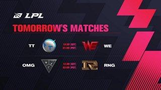 IG vs. ES | SN vs. RA  - Week 3 Day 3 | LPL Spring Split (2021)