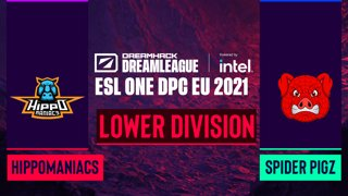 Dota2 - Hippomaniacs vs. Spider Pigzs - Game 1 - DreamLeague Season 14 DPC: EU - Lower Division