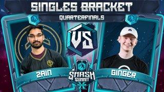 Zain vs Ginger - Singles Bracket: Quarterfinals - Smash Summit 10 | Marth vs Falco