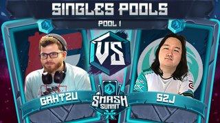 Gahtzu vs S2J - Singles Pools: Pool 1 - Smash Summit 10 | Captain Falcon vs Captain Falcon