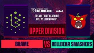 Dota2 - Hellbear Smashers vs. Brame - Game 2 - DreamLeague S15 DPC WEU - Upper Division