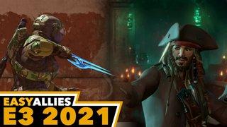 Xbox & Bethesda Showcase - Easy Allies Reactions - E3 2021 (Day 2, Pt. 1)
