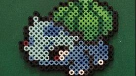 Perler Beads: Pokemon #001-002