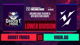 Dota2 - Vikin.gg vs. Ghost frogs - Game 2 - DreamLeague S15 DPC WEU - Lower Division