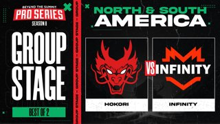 Hokori vs Infinity Game 2 - BTS Pro Series 8 AM: Group Stage w/ rkryptic & neph