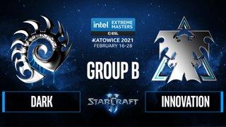 SC2 - Dark vs. INnoVation - IEM Katowice 2021 - Group B