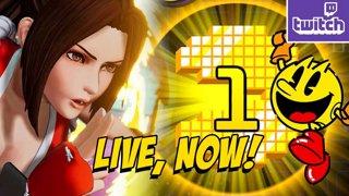 KOF15 MAI TRAILER - PAC TIME - PacMan 99 & MVC2 Later!? (4-7) !ads !nzxt