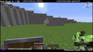 Highlight: Minecraft Hardcore! Zombie villager