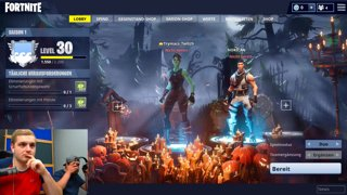 fortnite first time pc