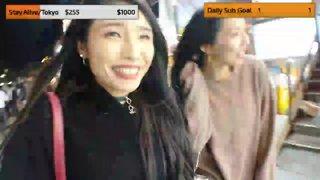 Highlight: Japanese Girl in Korea Night Life !sub